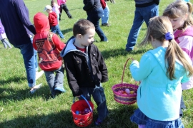Record Attendance for Easter Egg Hunt!